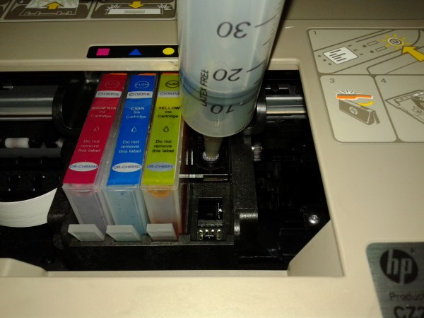 Printer not printing black